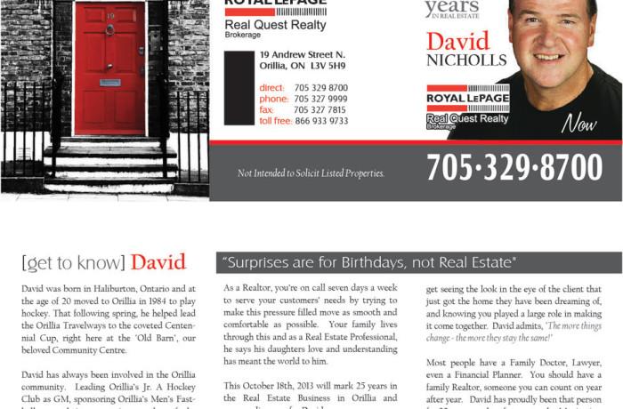 David Nicholls Brochure