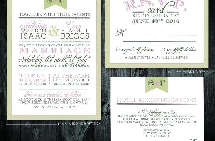 Wedding Stationery 1